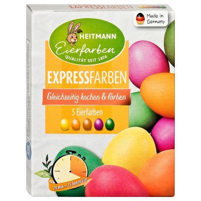 Express mit fünf Farben